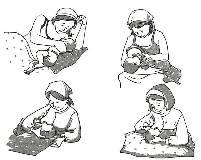 Водолей гороскоп. Как правильно кормит ребёнка грудью.